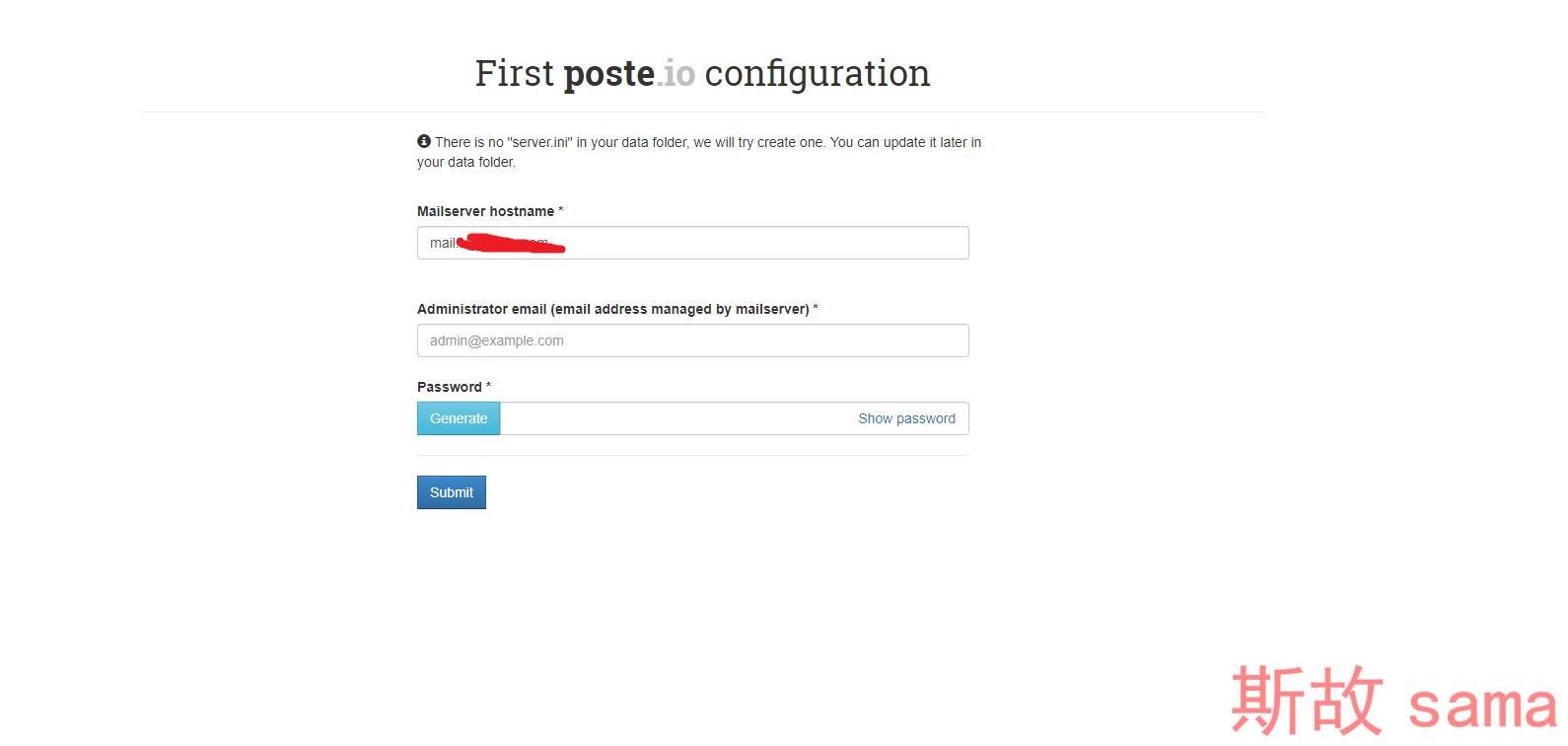Poste.io——简单实用美观的邮箱系统